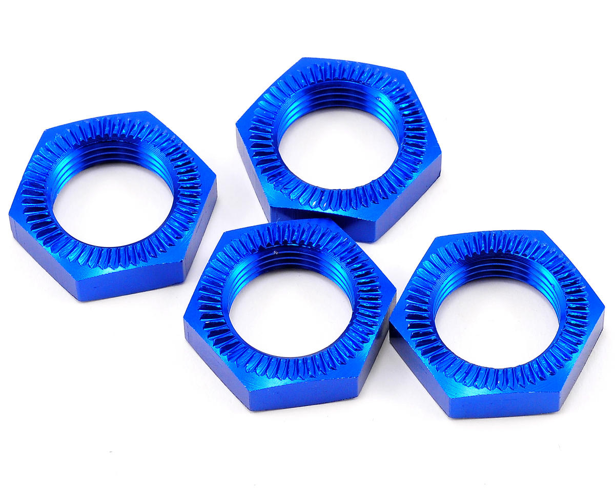 Losi 25mm Wheel Nut Set (Blue) (4)