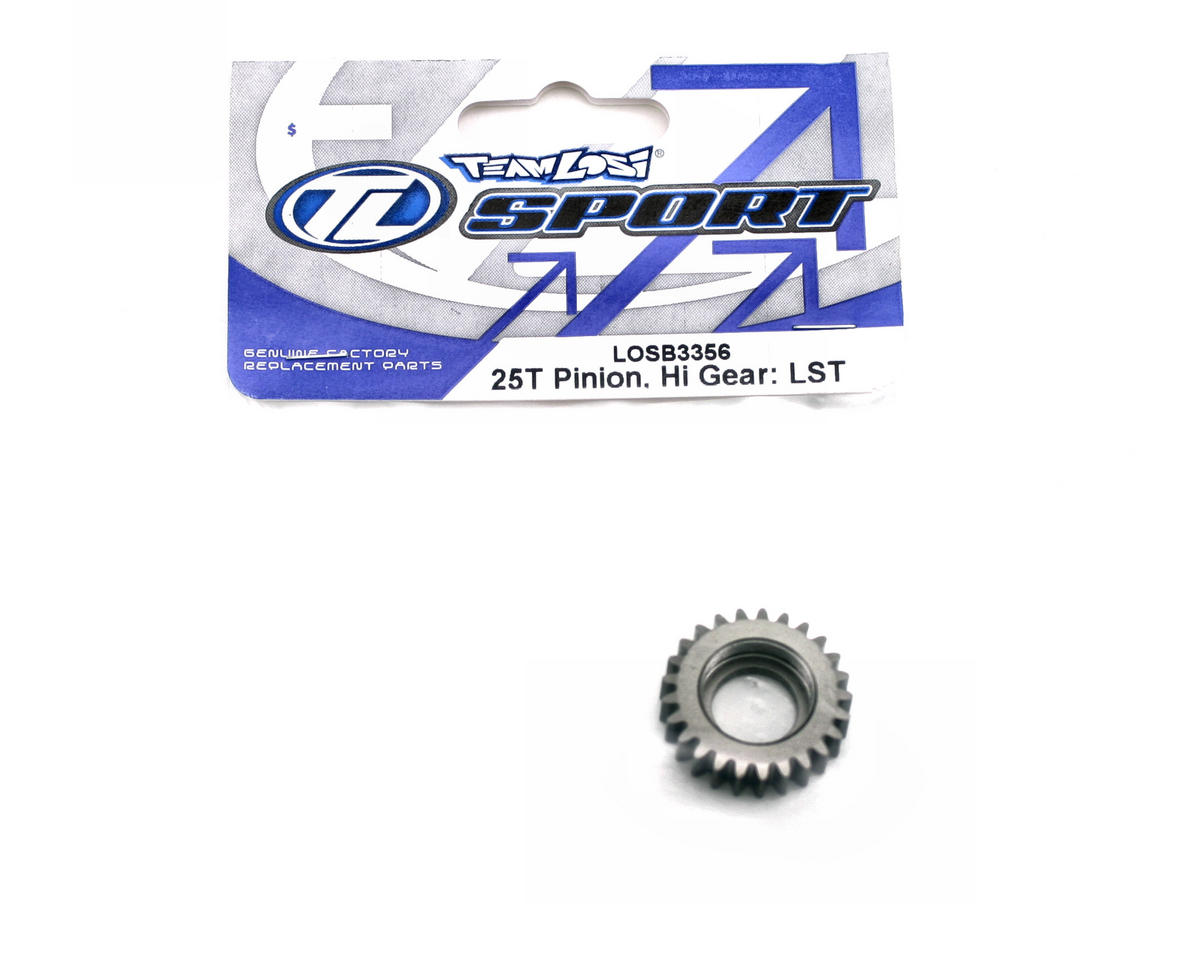 Losi High Gear 25T Pinion (LST, LST2).