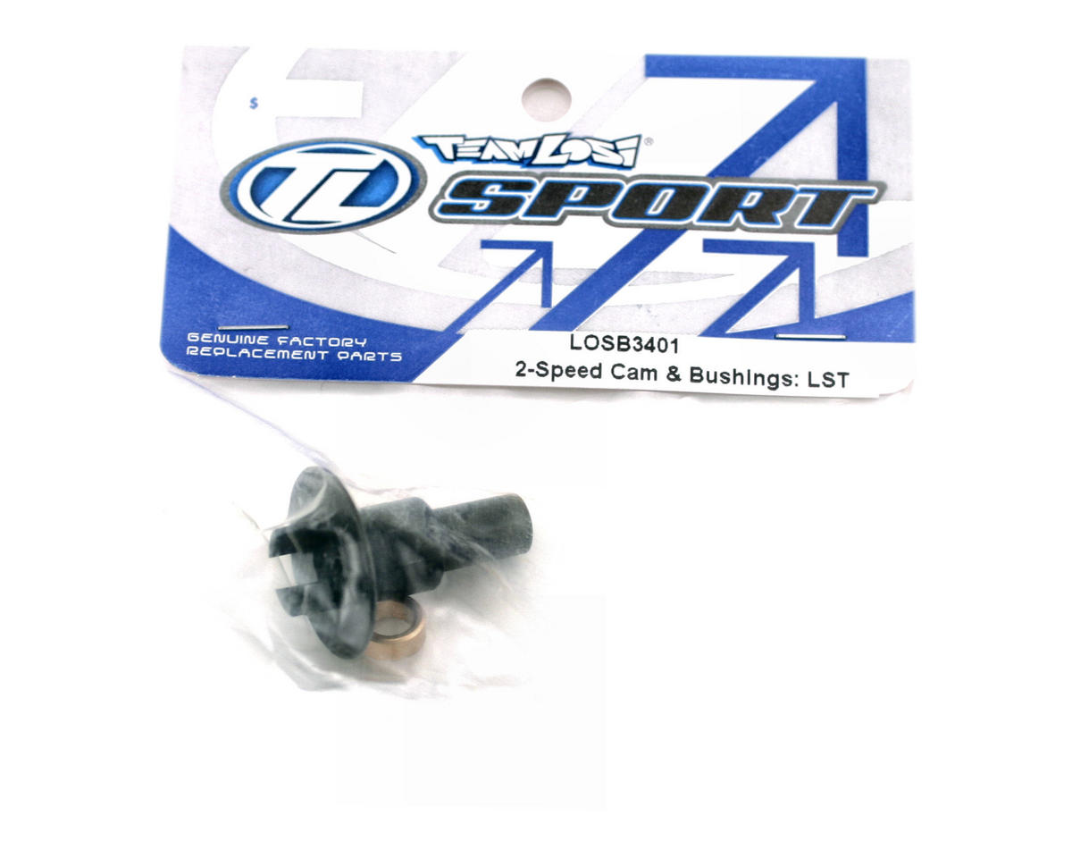 Losi Two Speed Cam & Bushings (LST, LST2).