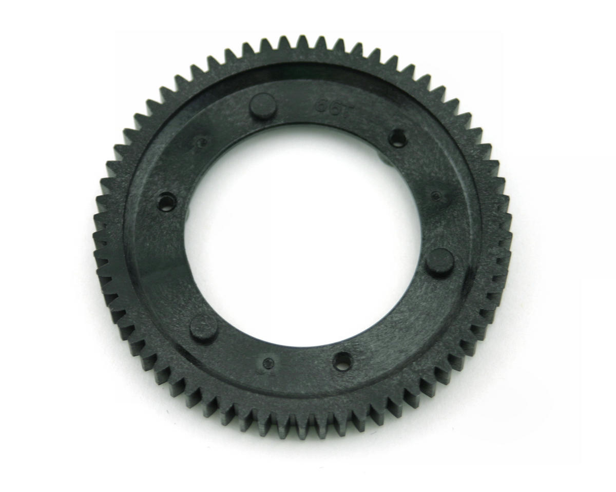 66T Spur for Use with 22T Pinion (LST, LST2). by Losi