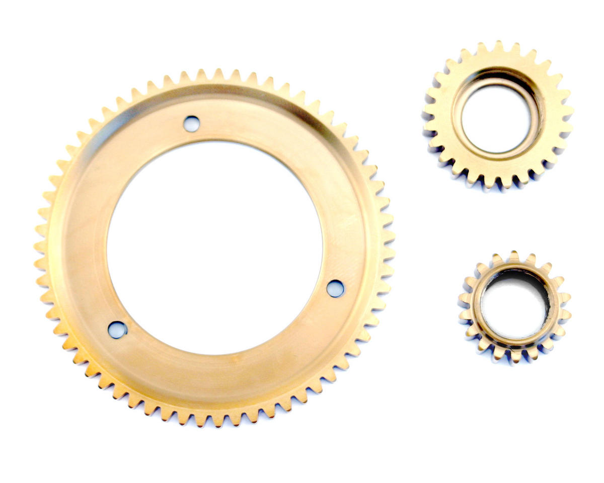 Losi Two Speed Steel Titanium Nitride Coated Two Speed Gear Conversion (LST, LST2).