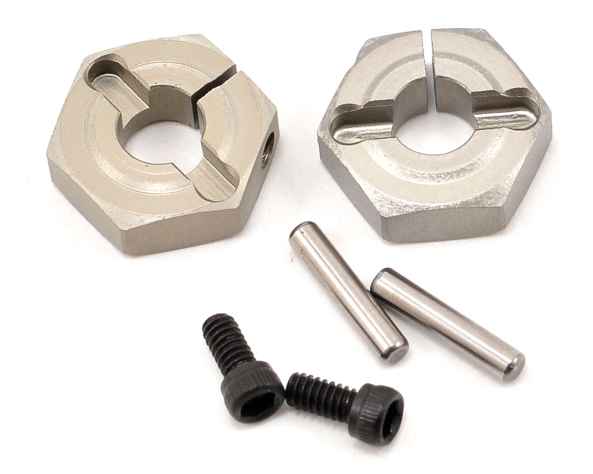 Aluminum Clamping Wheel Hex Set (2) by Losi