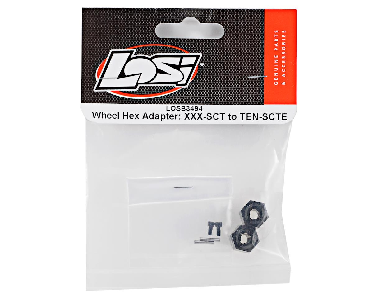 Losi Wheel Hex Adapter Set (XXX-SCT to TEN-SCTE)
