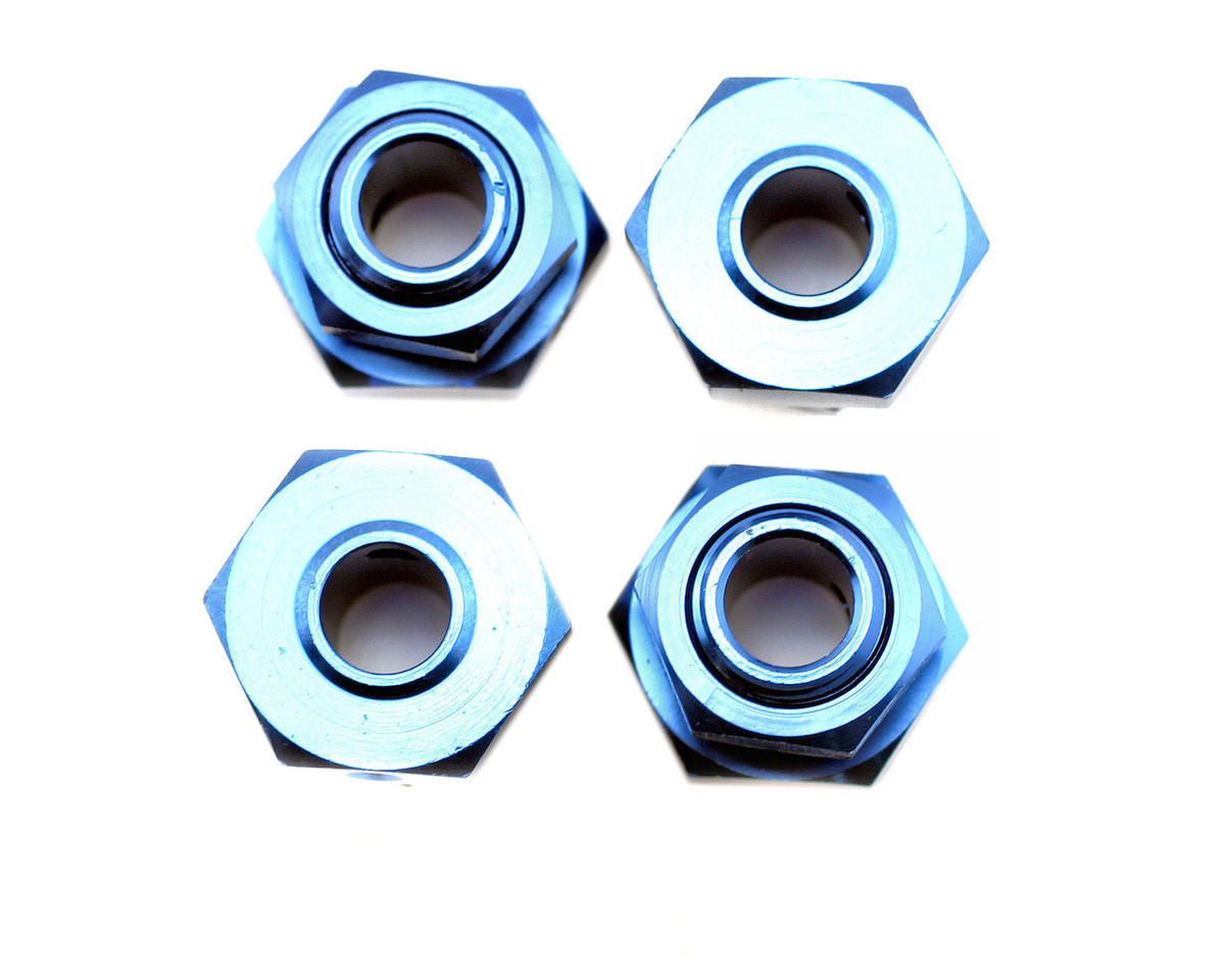 Losi 20mm Wheel Hex Set (Blue) (LST2) (4)