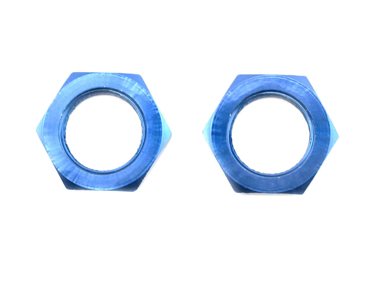 Losi 20 mm Wheel Hex Nuts (Blue) (2)
