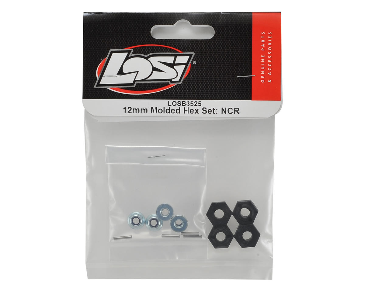 Losi Night Crawler 2.0 12mm Molded Hex Set