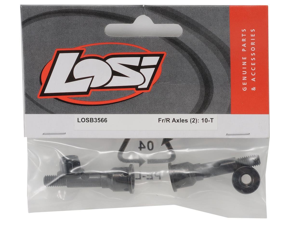 Losi Front/Rear Axles (2) (Ten-T)