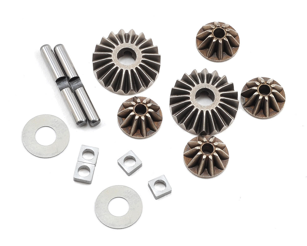Losi TEN-SCBE Differential Gear Set w/Hardware (Ten-T)