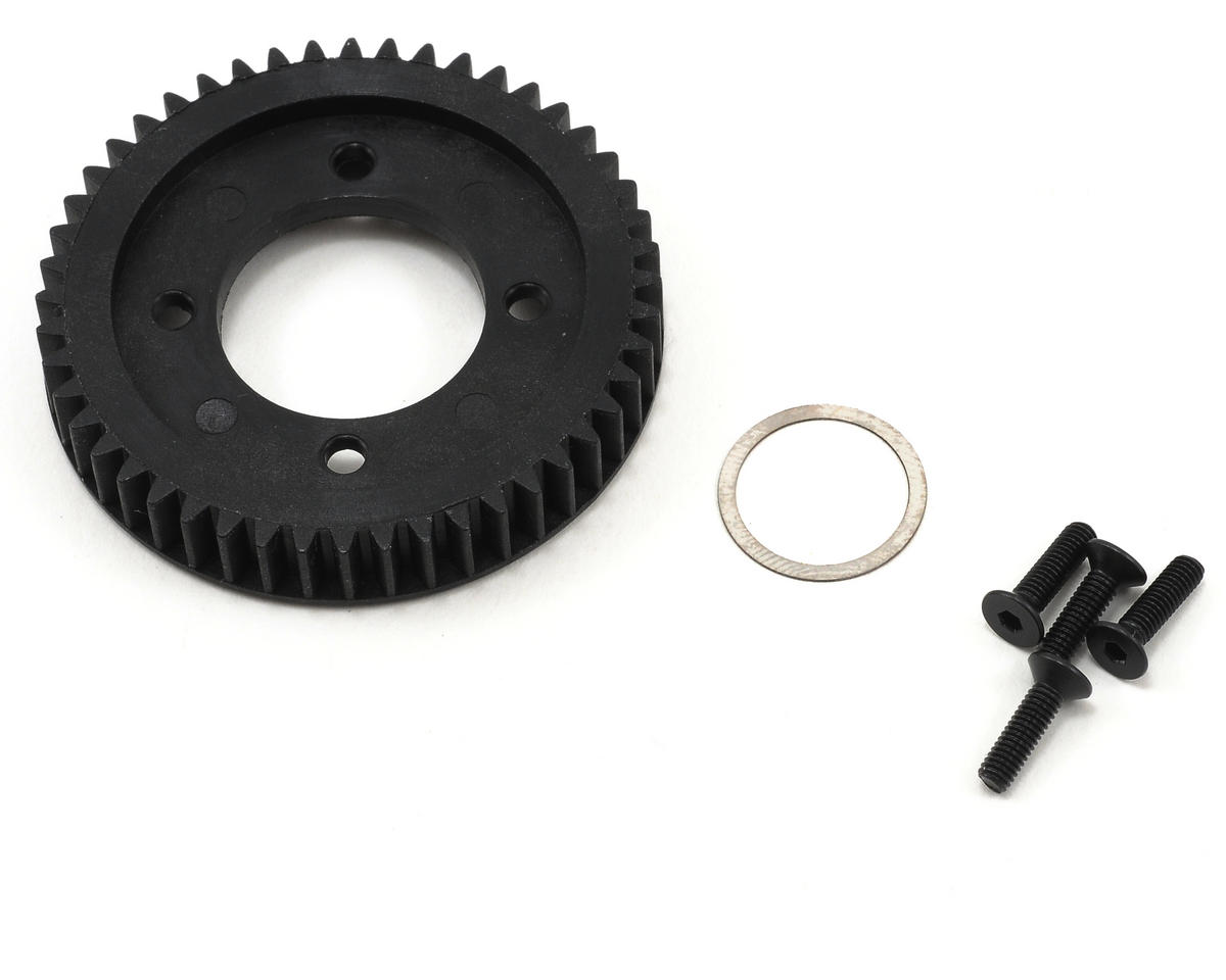 48T Center Spur Gear w/Hardware (Ten-T) by Losi