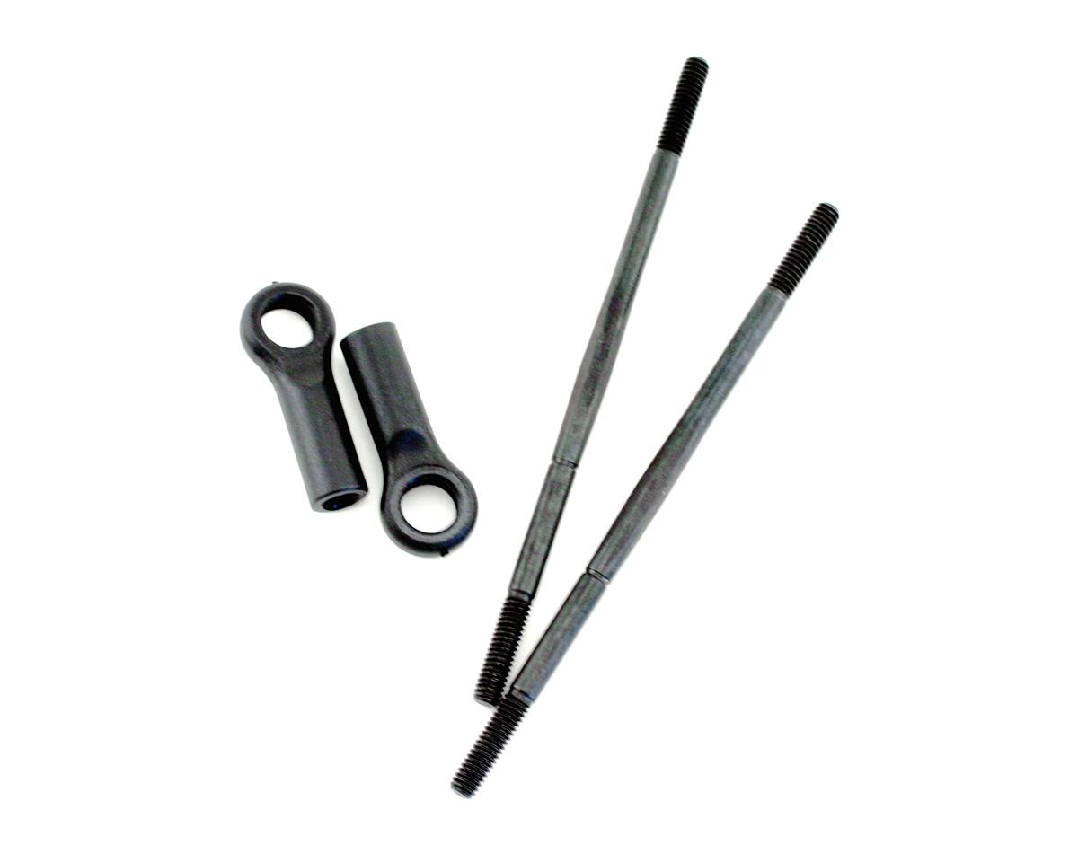 Turnbuckle Set w/End, 93mm:LST (2) by Losi