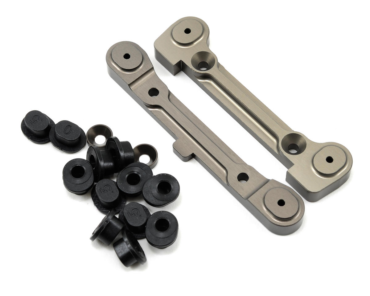 Adjustable Rear Hinge Pin Holder Set by Losi