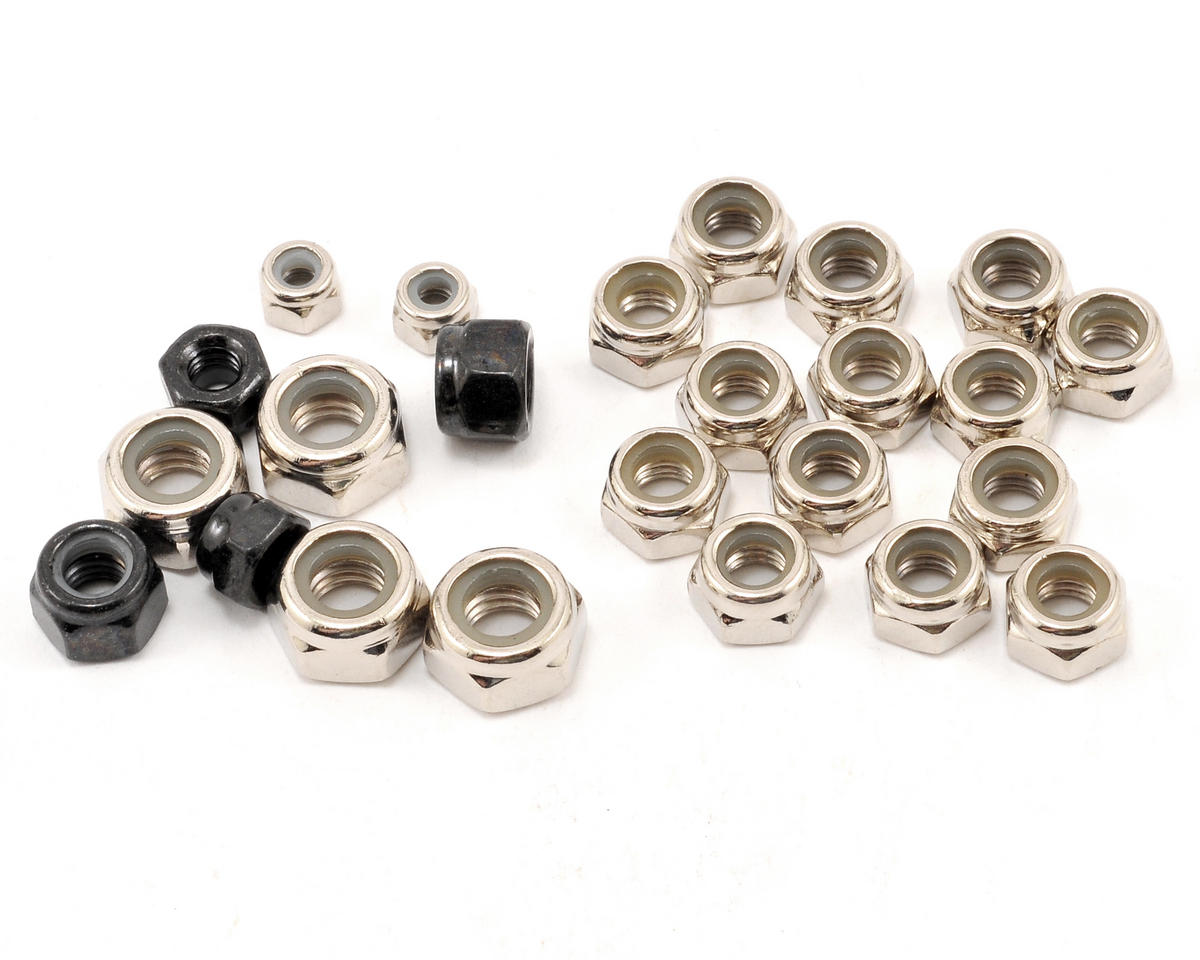 Losi Locknut Assortment (24)