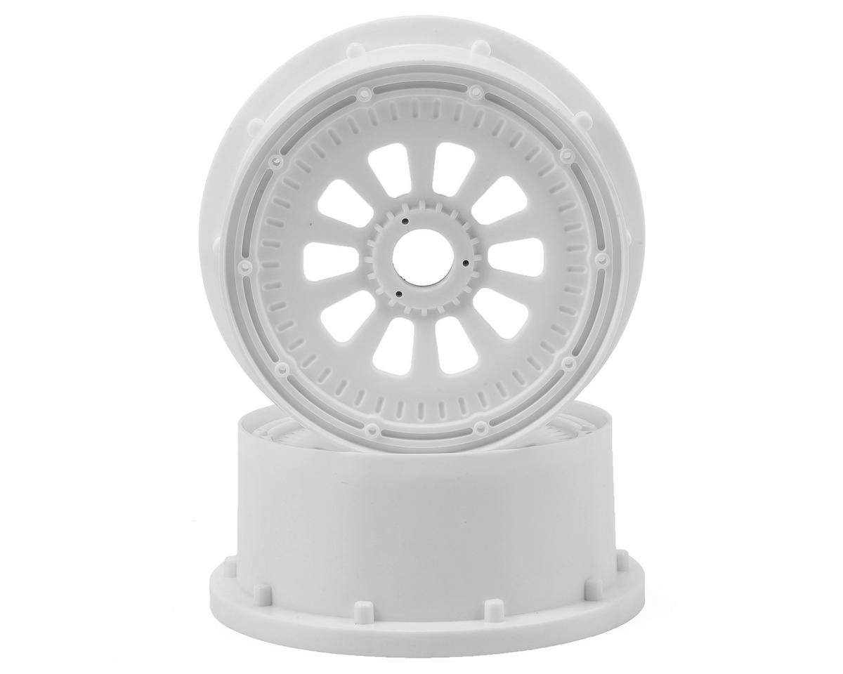 Losi 5IVE-T Wheel Set w/Beadlocks (2) (White)