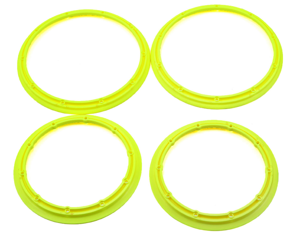 Losi Desert Buggy XL 5IVE-T Inner & Outer Beadlock Set (Yellow) (2)