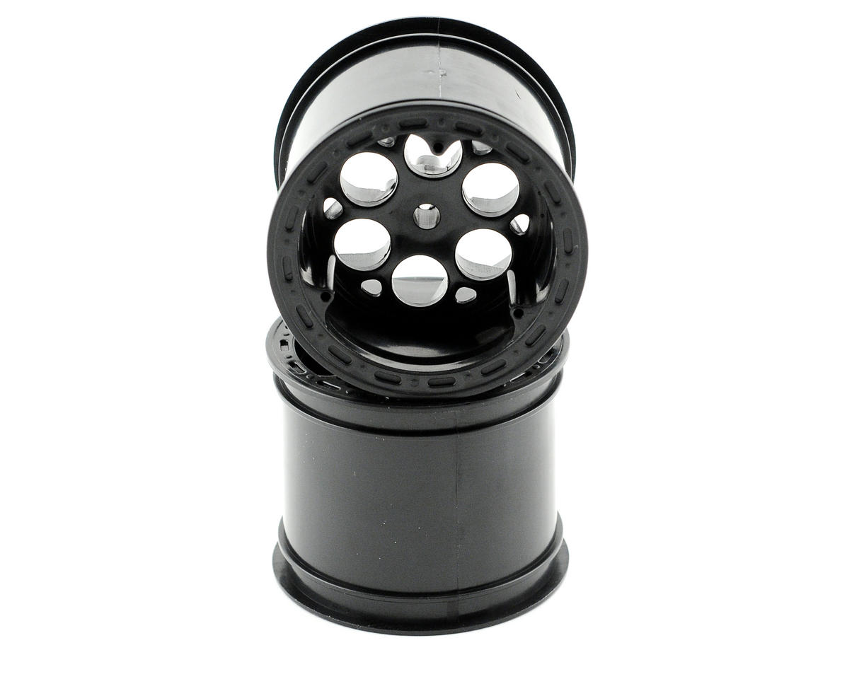 Losi Rear Wheel (Black) (2)