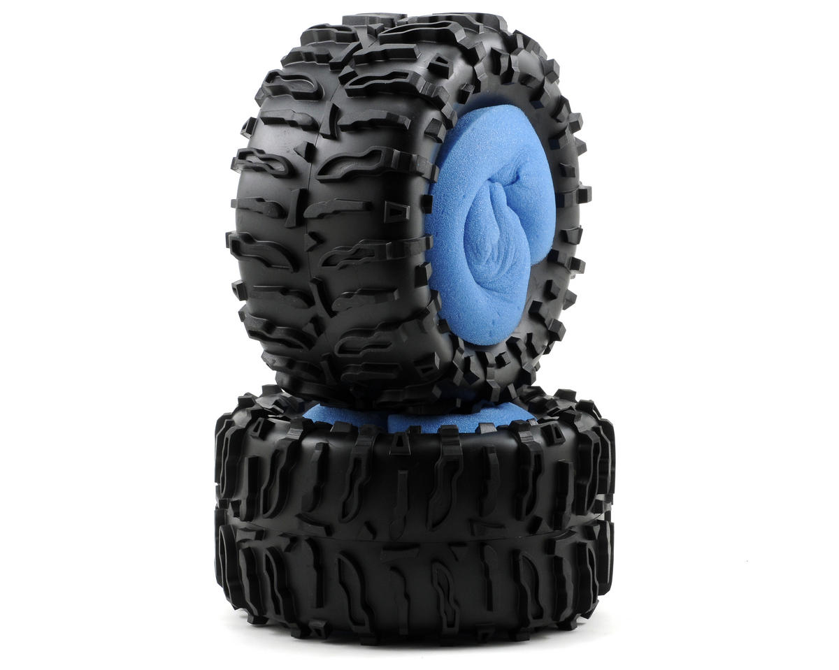 Losi Claw MT Tires with Foam (2)