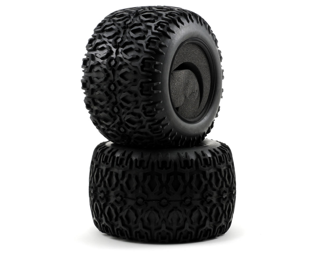 420 ATX Tires w/Foam (LST2) (2) by Losi