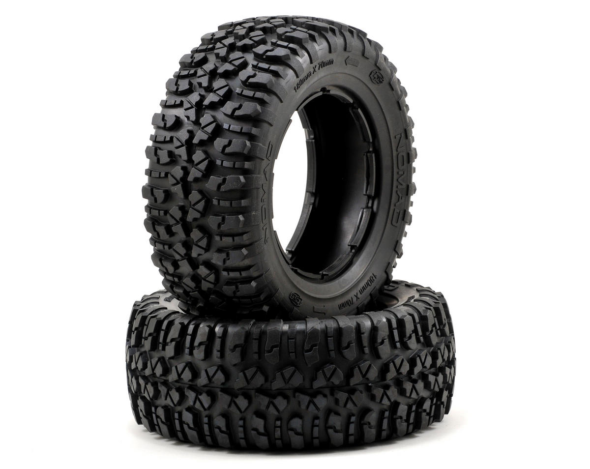 Losi Nomad Tire Set (2) (5IVE-T)