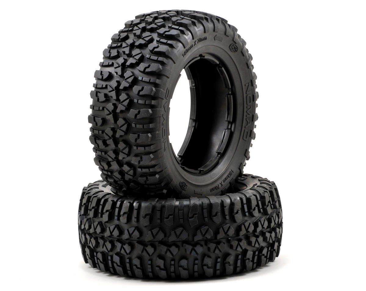Losi 5IVE-T Nomad Tire Set (2) (5IVE-T)