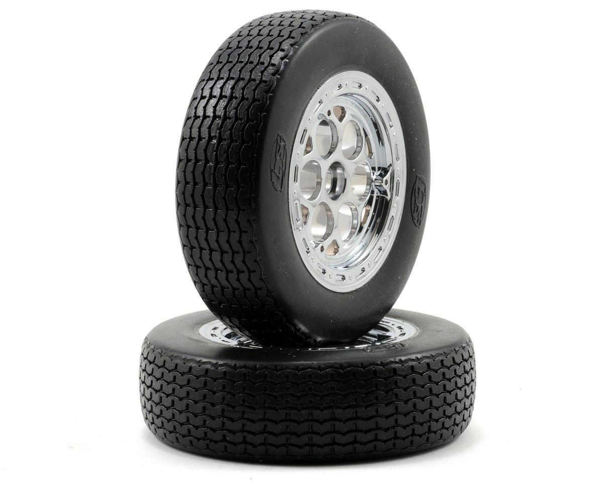 Losi Pre-Mounted Front Tires (2)