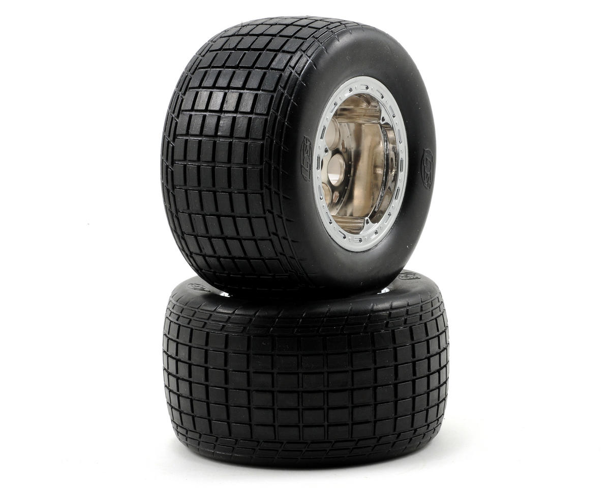 Losi Pre-Mounted Rear Tires (2)