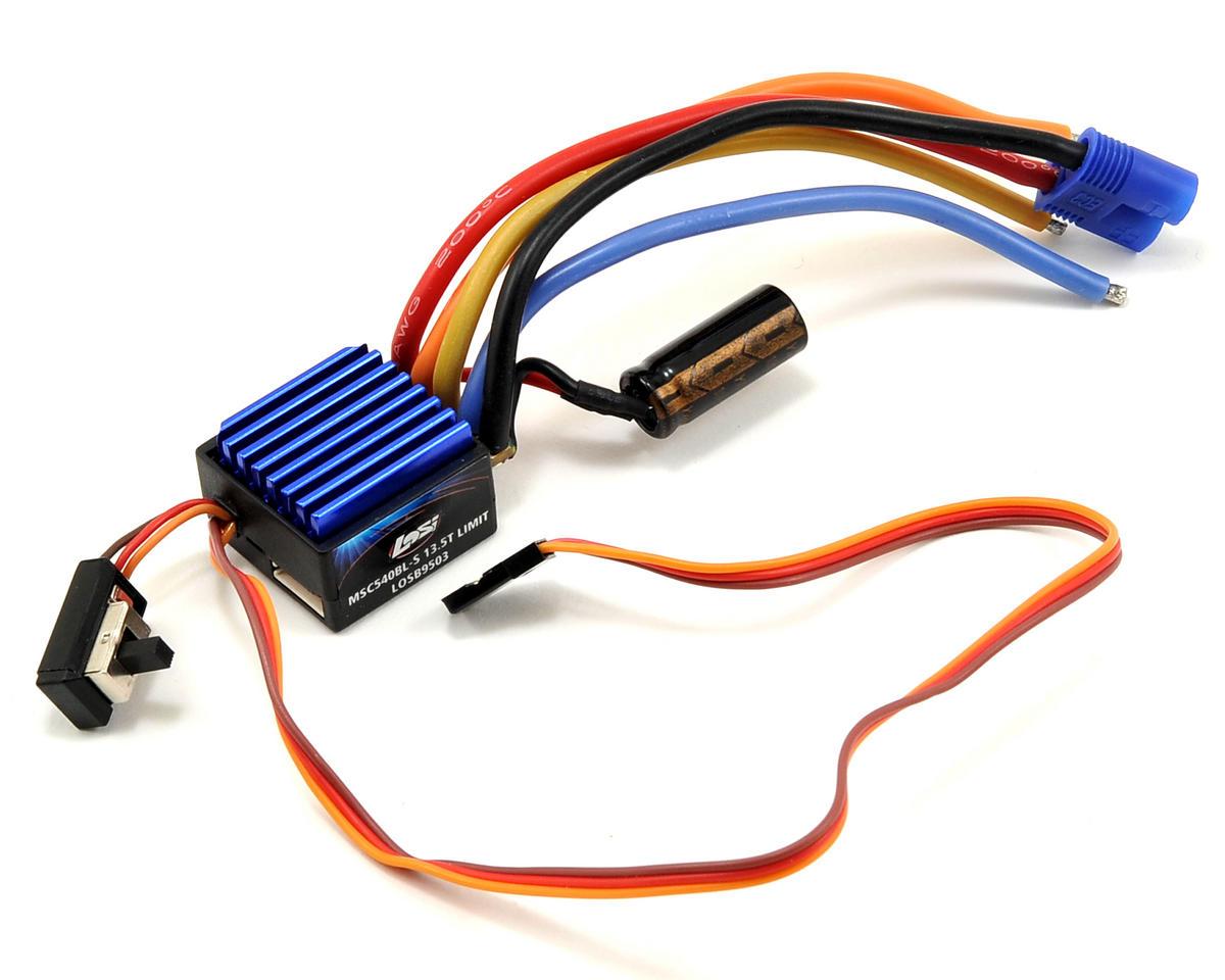 Losi MSC540BL-S Sensored Brushless ESC