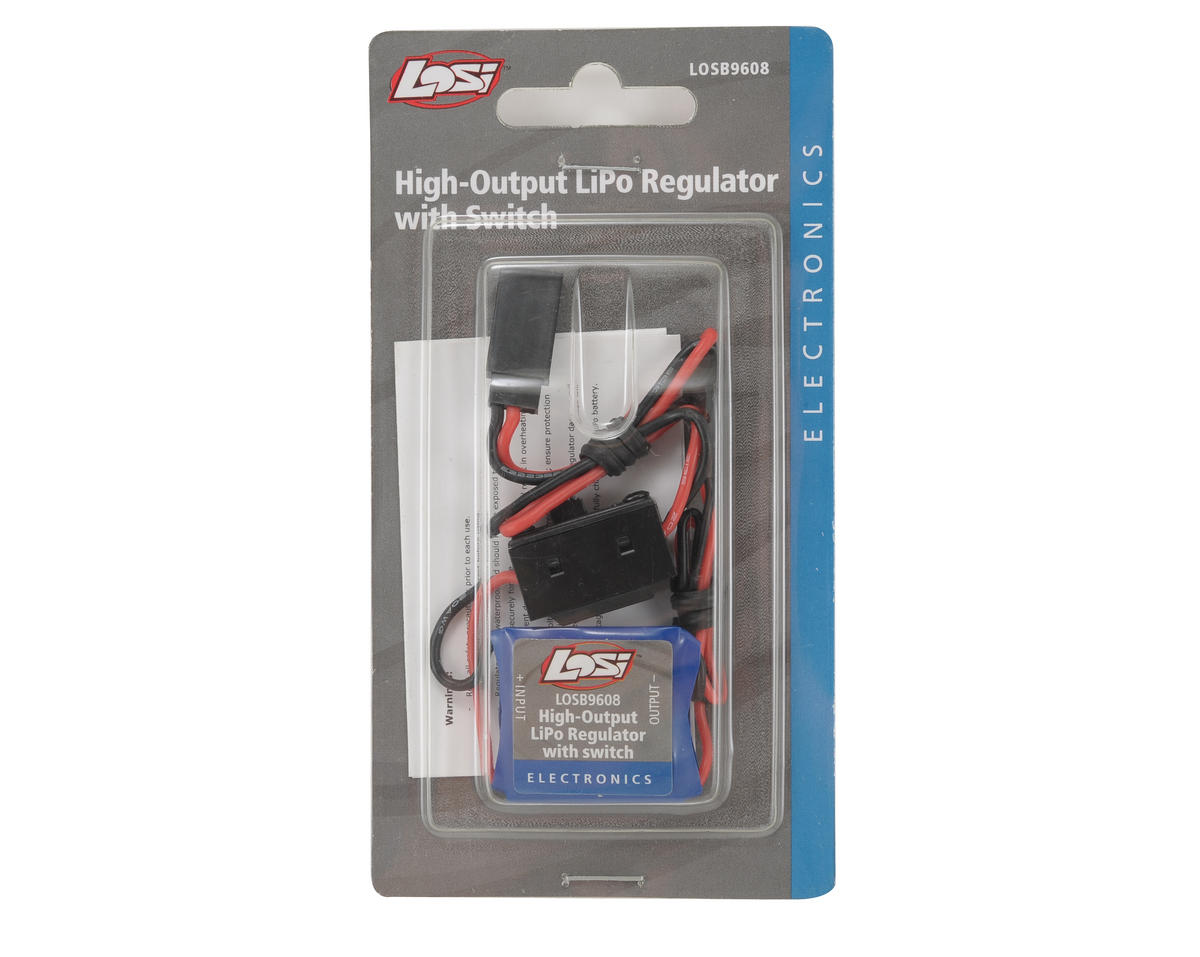 Losi High Output 5A Lipo Regulator w/Switch