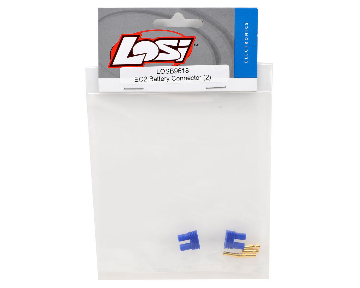Losi EC2 Battery Connector Set (2)