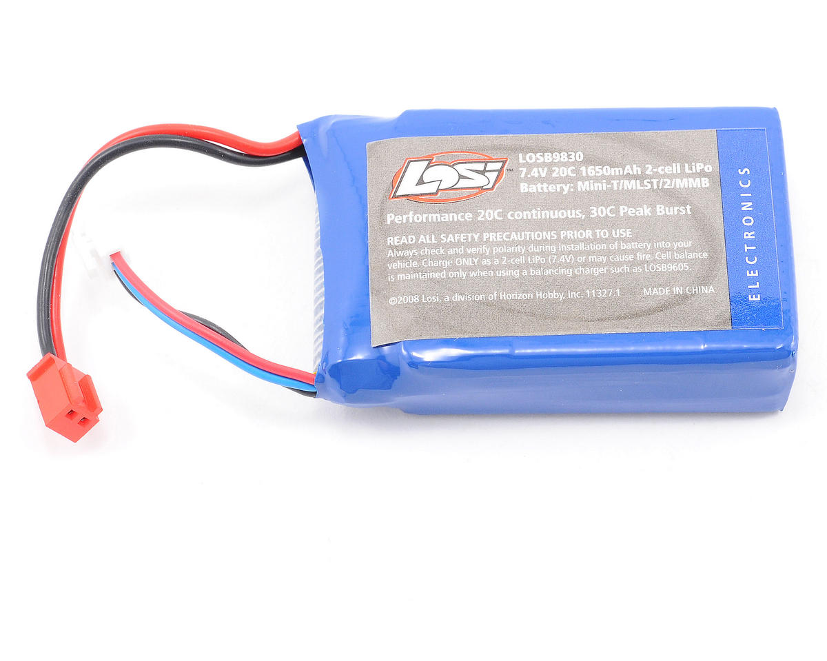 Losi 2S Li-Poly 20C Car Battery Pack (7.4V/1650mAh)