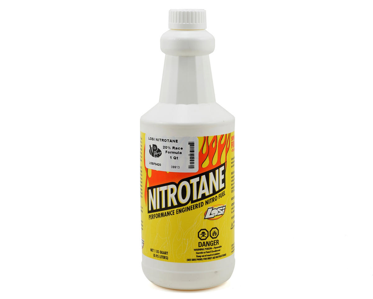 Nitrotane 20% Race Blend Car Fuel (One Quart) by Losi