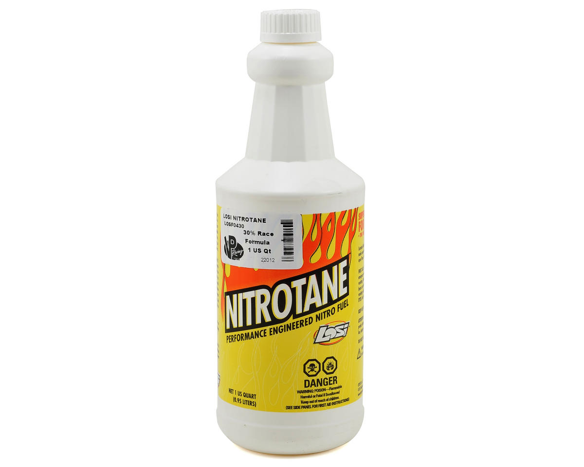 Losi Nitrotane 30% Race Blend Car Fuel (One Quart)