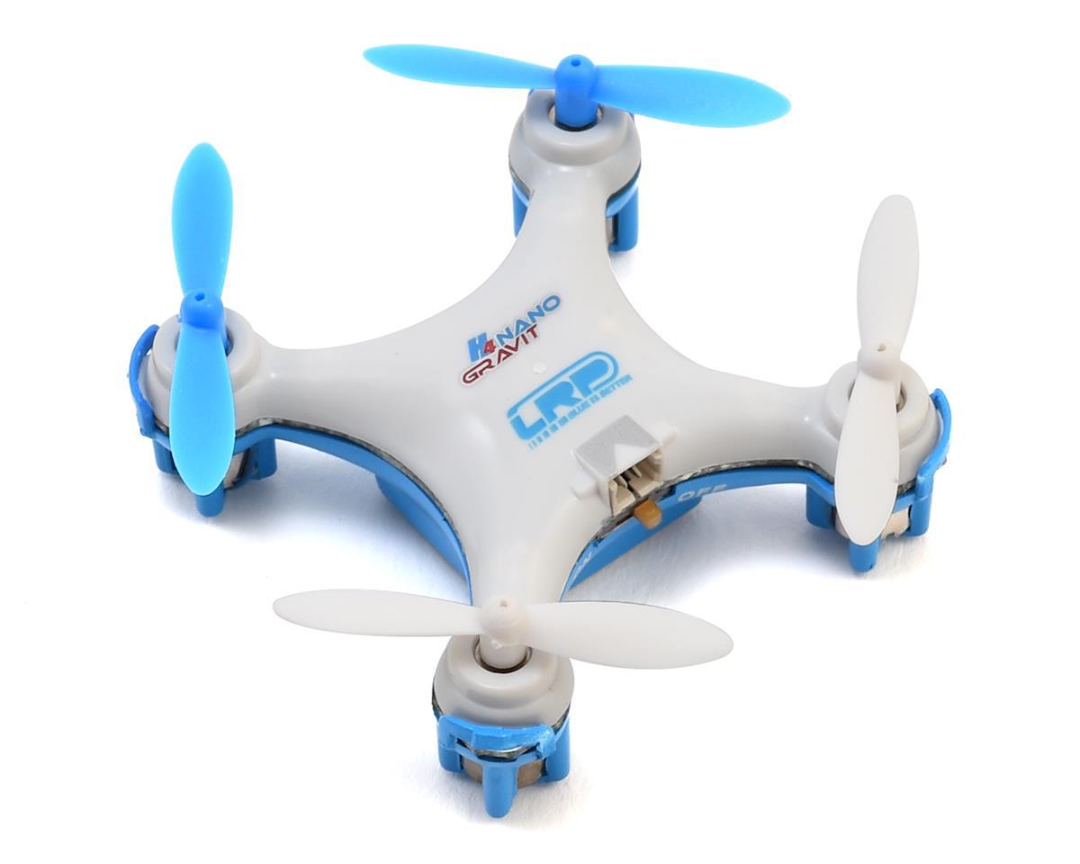 LRP H4 Gravit Nano Quadrocopter Drone w/2.4GHz Radio, Battery & Charger