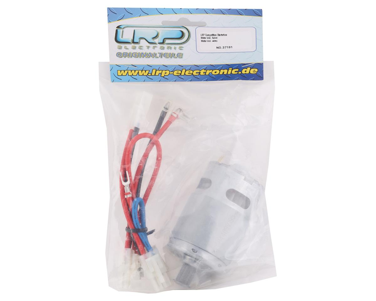 LRP Competition Starterbox Motor & Wire Harness