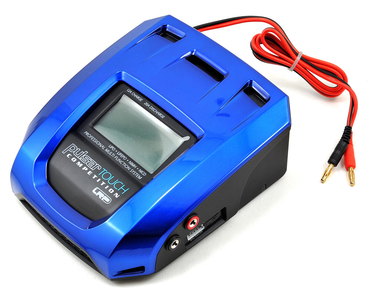 LRP Pulsar Touch Competition LiPo/LiFe/NiMH/NiCd DC Charger (US version)