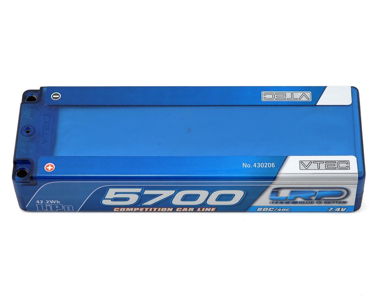 LRP Competition 2S Li-Poly 40C Hard Case Battery Pack (7.4V/5700mAh)