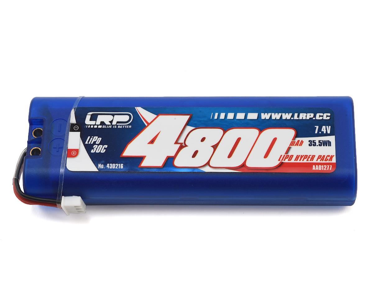 LRP Hyper Pack 30C LiPo Hardcase Battery Pack w/Multi Plug (7.4V/4800mAh)