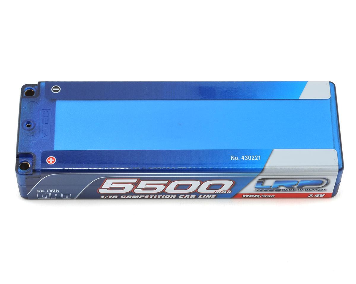 LRP Competition 2S LiPo 55C Hard Case TC Battery Pack (7.4V/5500mAh)