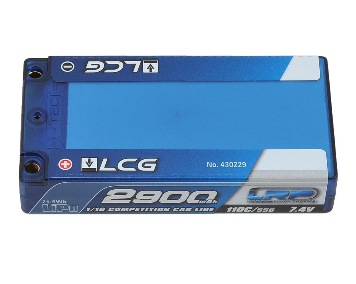 "LRP Competition 2S LiPo 55C Hard Case ""LCG"" Shorty Battery Pack (7.4V/2900mAh)"