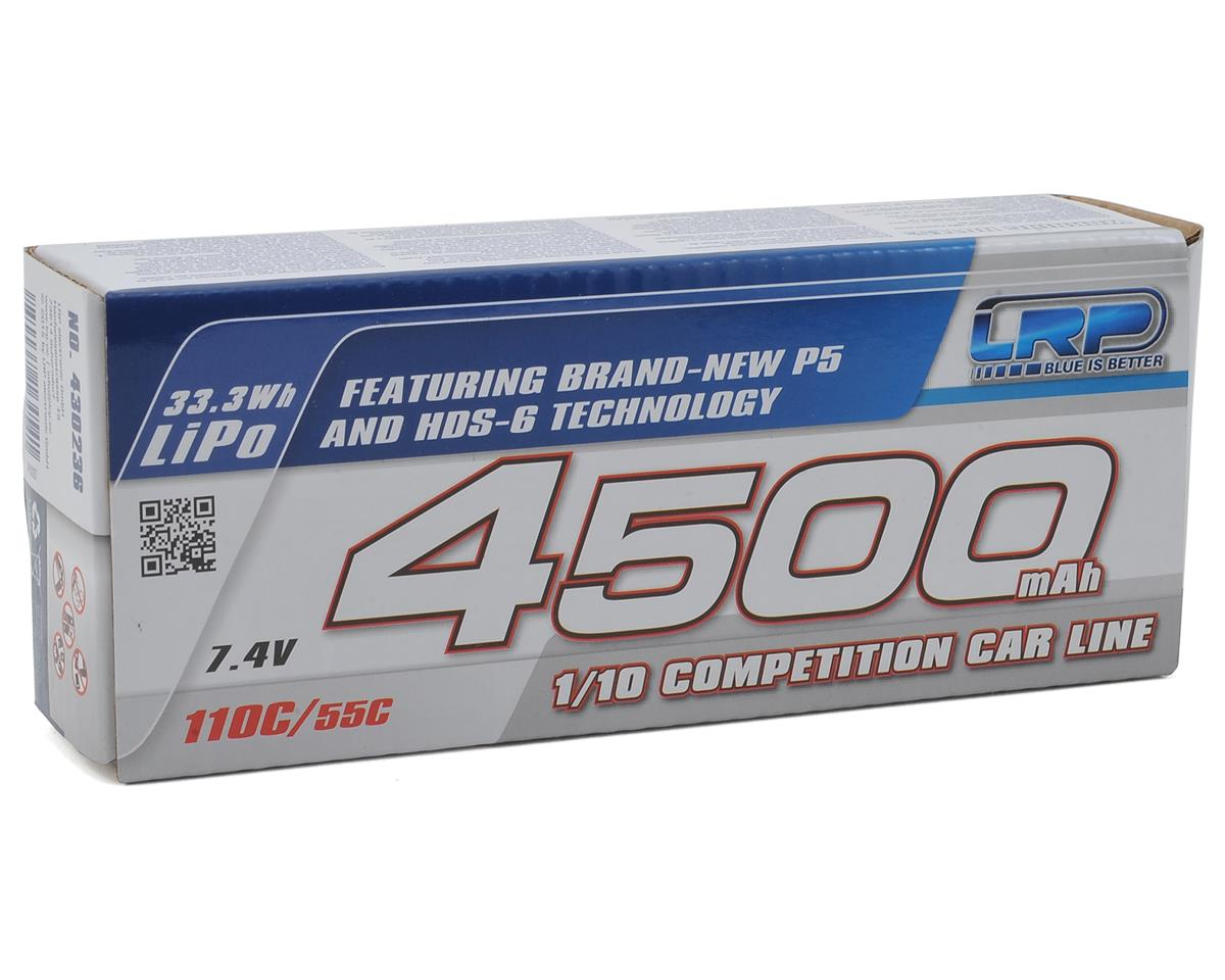 LRP Shorty P5 2S LiPo 55C Hard Case Battery Pack (7.4V/4500mAh)