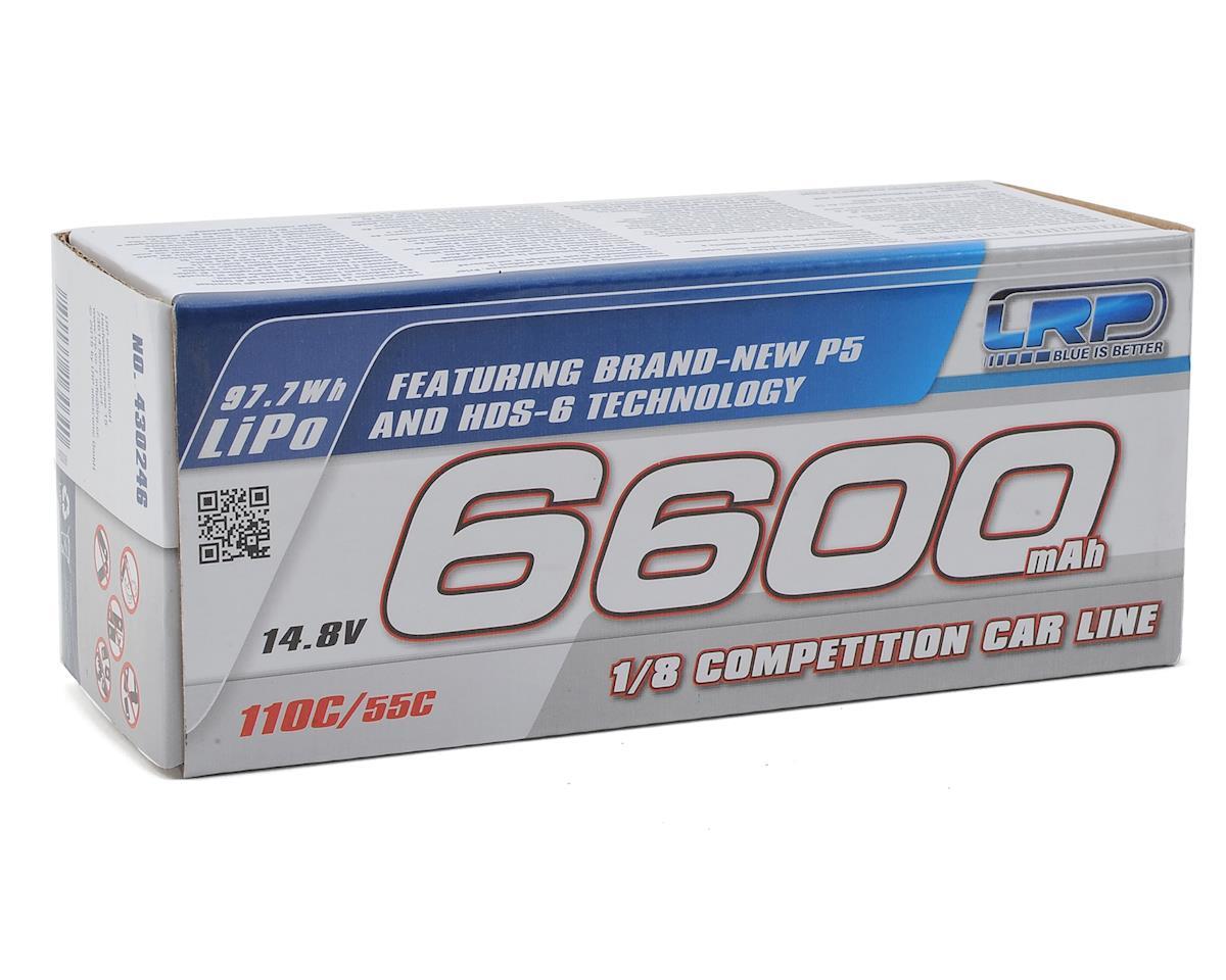 LRP 1/8 P5 4S LiPo 55C Hard Case Battery Pack (14.8V/6600mAh)