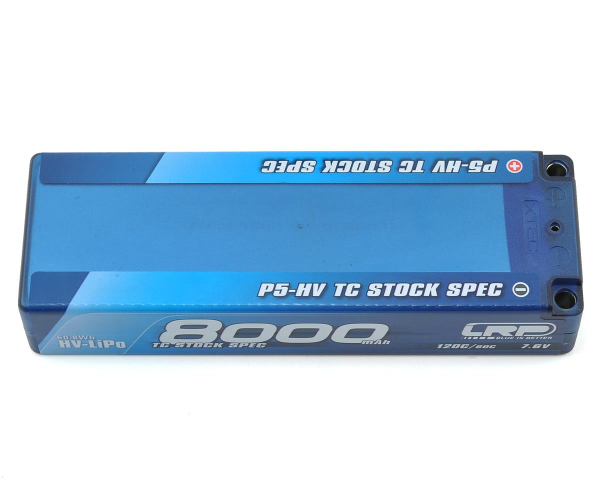 LRP TC Stock Spec P5-HV Graphene 2S LiPo 60C Battery (7.6V/8000mAh)