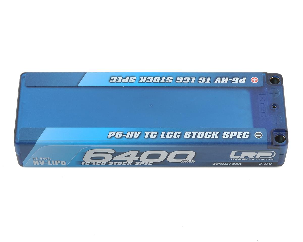 LRP TC LCG Stock Spec P5-HV Graphene 2S LiPo 60C Battery (7.6V/6400mAh)