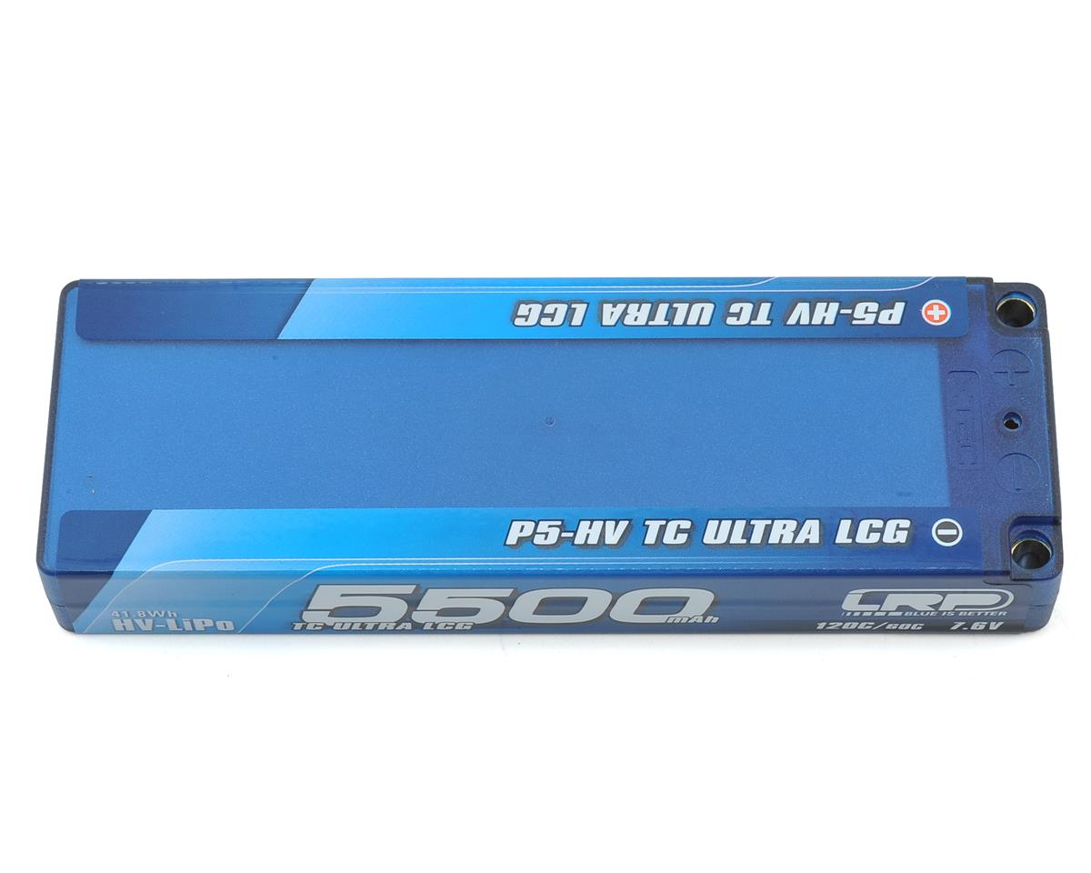 LRP TC Ultra LCG P5-HV Graphene 2S LiPo 60C Battery (7.6V/5500mAh)