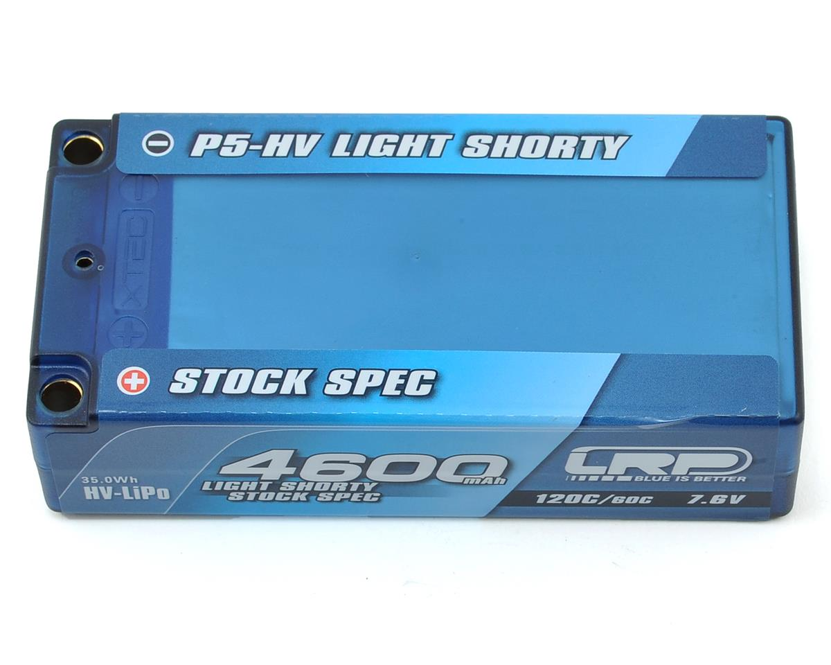 Light Stock Spec Shorty P5-HV Graphene 2S LiPo 60C Battery (7.6V/4600mAh)