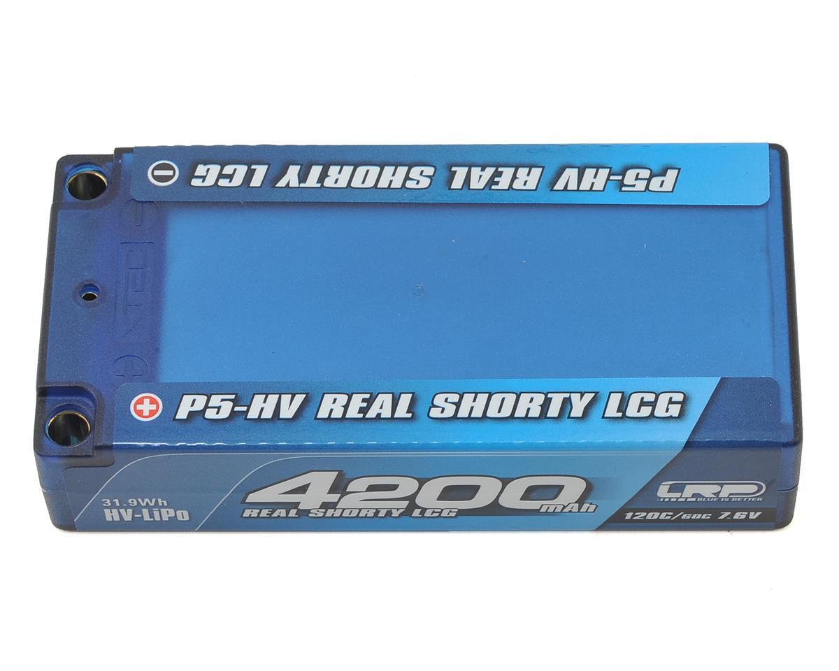 LRP P5-HV Graphene 2S LiPo 60C Real Shorty Battery w/5mm Bullets