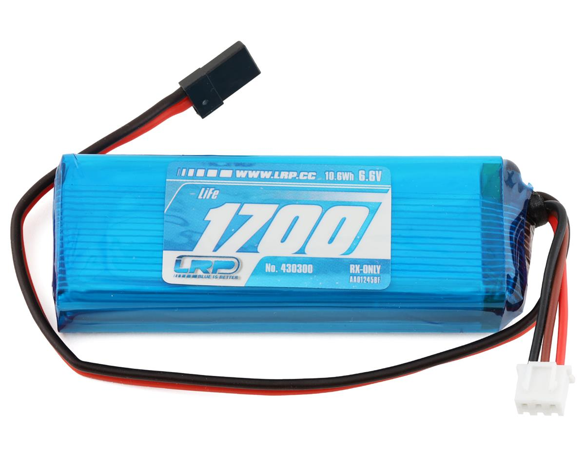 LRP VTEC LiFe Flat Receiver Battery Pack w/XH Connector (6.6V/1700mAh)