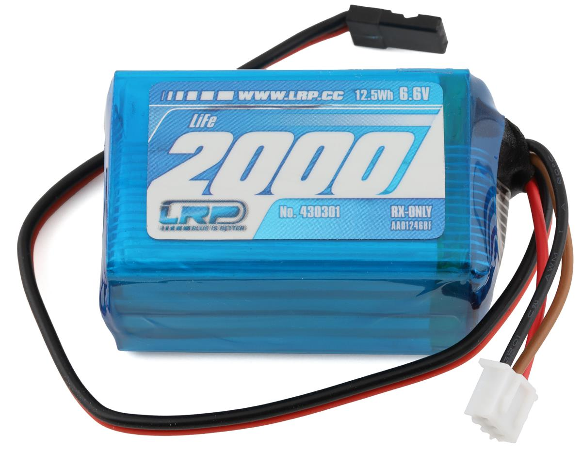 LRP VTEC LiFe Hump Receiver Battery Pack (6.6V/2000mAh)