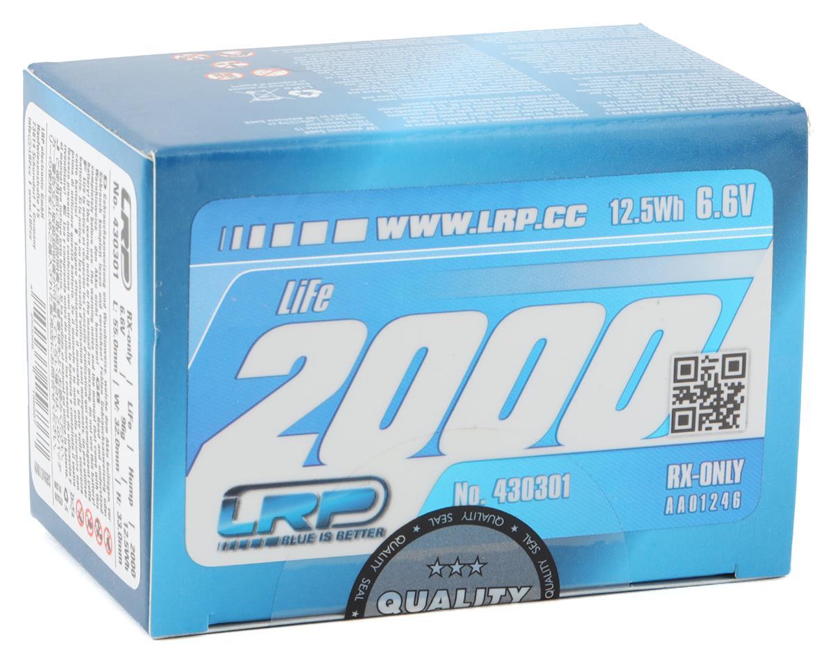 LRP VTEC LiFe Hump Receiver Battery Pack (6.6V/2000mAh)