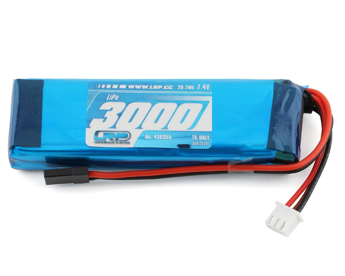 VTEC 2S LiPo Transmitter Battery Pack (7.4V/3000mAh) (MT-4, M11X, M12) by LRP