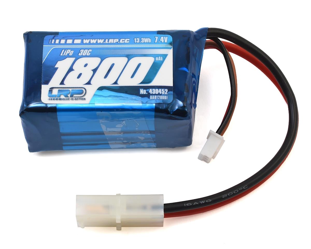 LRP Deep Blue 450 Tuning 30C LiPo Battery (7.4V/1800mAh)